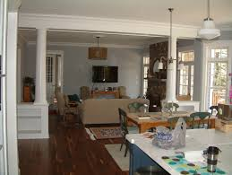 Dining Room Columns Trim Work Mantels Built Ins