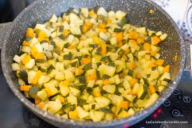 cuisiner des carottes la poele poêlée de riz aux céréales carottes et courgettes bon cadeau