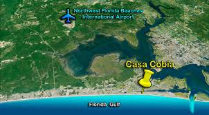Panama City Beach Florida Map by Casa Cobia Panama City Beach Fl Beach Quest Resort