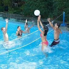 swimline jammin u0027 cross pool volley set toysplash