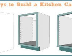 Build Kitchen Cabinet Kitchen Cabinets Drawers Hbe Kitchen