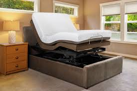 bedroom power bed frame flexible bed adjustable beds and