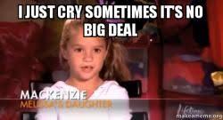 Deal Or No Deal Meme - i just cry sometimes it s no big deal make a meme