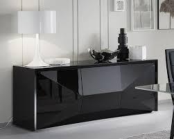Small Black Gloss Sideboard Modern Sideboards Highboards U0026 Buffets