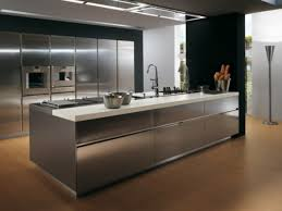 White Laminate Kitchen Cabinets Kitchen White Gloss Laminate Kitchen Cabinet Including Stainless