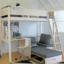 High Sleeper With Futon High Sleeper Loft Beds With Sofabed Futon Sofa Desk U0026 Storage
