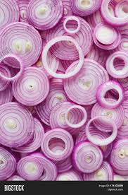 red onion rings images Red onion slices image photo free trial bigstock jpg