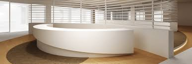 Mobile Reception Desk by Reception Desks U0026 Offices Dfmk Solid Surface Milton Keynes