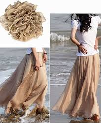 Blush Chiffon Maxi Skirt Best 25 Beach Skirt Ideas On Pinterest Summer Beach