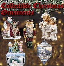 collectible ornaments from family