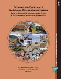 Us Department Of The Interior Bureau Of Land Management Colorado Old Grand Junction Fo Dominguez Escalante National