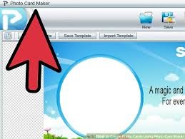 create a card how to create photo cards using photo card maker 10 steps