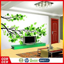 wallpaper 3d for house new small wooden house design wallpaper pattern green leaf wallpaper