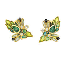 chapelle earrings luxios department contemporary jewellery