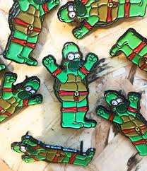 thumbs homer x tmnt pin u2013 nfs co no fit state co
