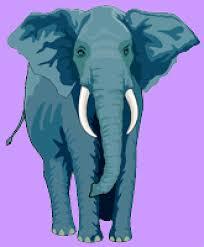 Coloriage Elephant sur Hugolescargotcom