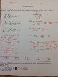 honorspre calculus verifying using trig identities
