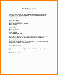 Modified Block Format Letter by 8 Block Format Business Letter References Format