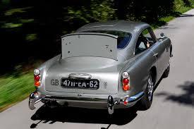 classic aston martin cars james bond u0027s aston martin db5 from u0027goldfinger u0027 stars at paris