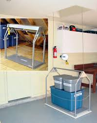 byers products group versa lift 250lb attic storage lifting system