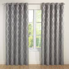 Cheetah Sheer Curtains by Julian Charles 90 X 90 Inch Riva Lined Eyelet Curtains Silver