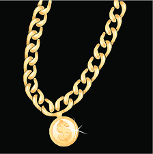 free gold necklace images Royalty free gold chain necklace clip art vector images