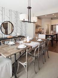 Restoration Hardware Bistro Chair Cole Son Wallpaper Driftwood Table Decor Interior Design And