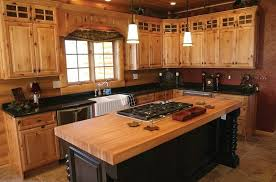 Rustic Kitchen Sink Kitchen Rustic Pine Kitchen Cabinet Ideas With Black Accents And