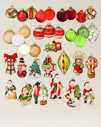 set of 12 mistletoe and ornaments balsam hill