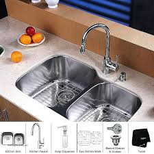 replace kitchen faucet replace undermount kitchen sink inch bowl stainless steel