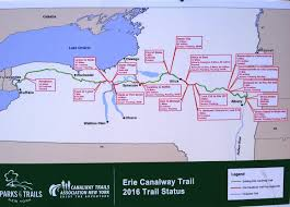 Map Of The Erie Canal Closing The Gaps Advocacy Groups Want Erie Canalway Trail On Path