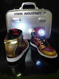 Nike Light Custom Iron Man Nike Dunk With Arc Reactor U0026 Stark Industries