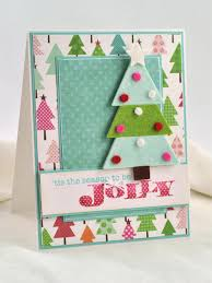 Homemade Christmas Tree by 3 D Felt Christmas Tree Card Hgtv