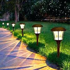 solar powered patio lights solar led landscape lights reviews amazing solar pathway lights for