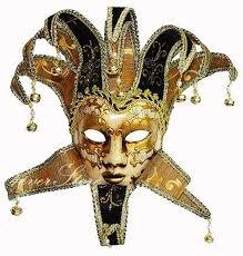 jester masquerade mask traditional venetian theatre masquerade mask jester mask