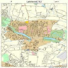 map of lakewood new jersey lakewood new jersey map 3438580