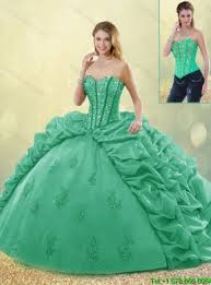 quinceanera dresses 2016 hot sale turquoise quinceanera dresses with brush for 2016