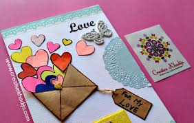 handmade cards valentines day creative handmade cards with for sale creative