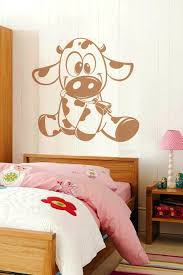 baby wall decals baby cow walltat com art without boundaries