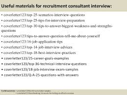 cover letter for recruitment consultant position 5820