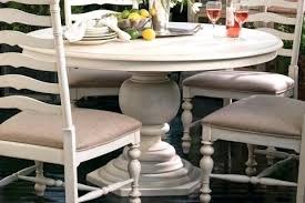 Round Pedestal Dining Table With Extension Leaf Dining Table Round Pedestal Dining Table White 48 With Leaf