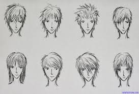 spiky anime hairstyles boy s anime hairstyles new hair now
