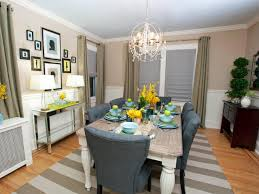 sabrina u0027s best high to low makeovers taupe dining room hgtv and