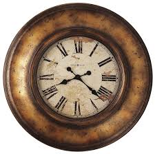 amazon com howard miller 625 540 copper bay wall clock copper
