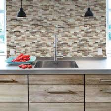 simple fine stick on kitchen backsplash stick on wall tiles