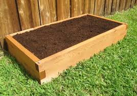 Cedar Raised Garden Bed U Shaped Raised Garden Bed Cedar Bed Gardeninminutes