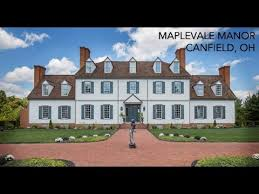 colonial mansion lakefront colonial mansion for sale in canfield ohio 14 acres