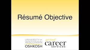 objective statement in a resume resume objective statements youtube resume objective statements