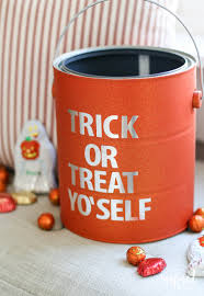halloween tin cans diy halloween paint can decor inspired by charm