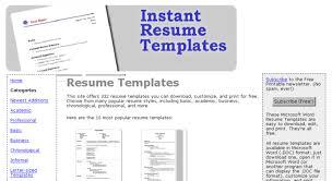 instant resume templates instant resume templates all best cv resume ideas